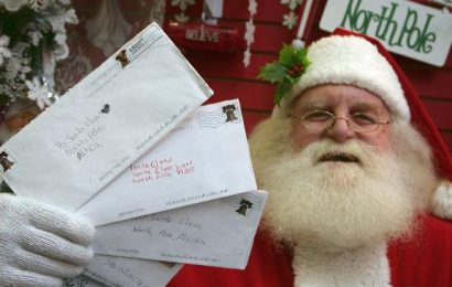 Cartas para o Papai Noel dos Correios podem ser entregues nas agências a partir de 1º de novembro