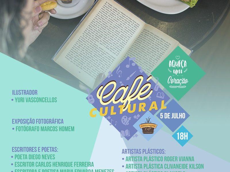 """Já está Marcada a III Edição do Café Cultural """"Aqueça um Coração"""" em São Pedro da Aldeia"""