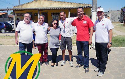 Dia de Alegria e Diversão com a Cruz Vermelha Brasileira em São Pedro da Aldeia.
