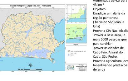 Barragem de Juturnaíba 3 – Dados sobre a Bacia Hidrográfica