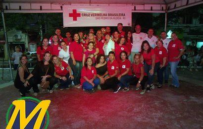 Filial São Pedro da Aldeia da Cruz Vermelha Brasileira Homenageia Seus Voluntários