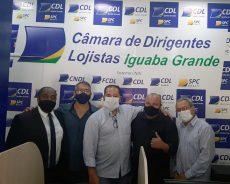 CDL DE IGUABA E APIERJ FIRMAM PARCERIA INÉDITA NA CIDADE